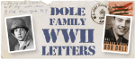 Dole Family World War II Letters exhibit